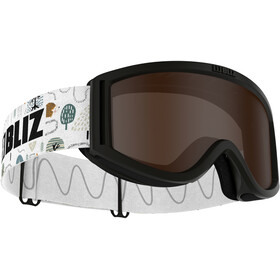 Bliz Pixie Goggles Kinderen, black/brown